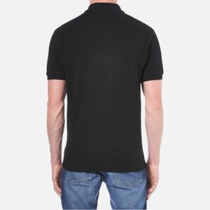 Lacoste Shirts - Lacoste Men's black solid polo size 5/ large